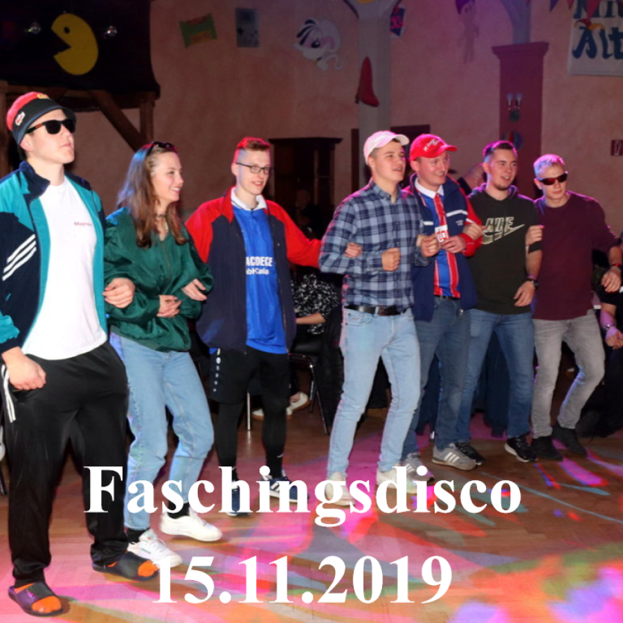 15.11.2019 Faschingsdisco