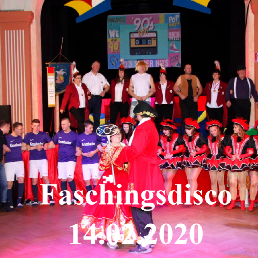 14.02.2020 KCA Faschingsdisco